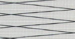 前縁用標準PX15マイラーセール(白地に黒線)