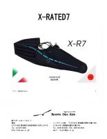 X-RATED7 取扱説明書